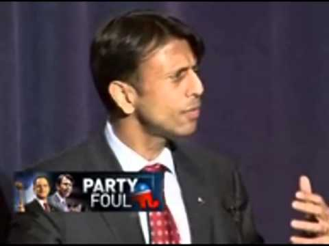 "bobby jindal ""I AM THE STUPID PARTY"" - February 5, 2013"