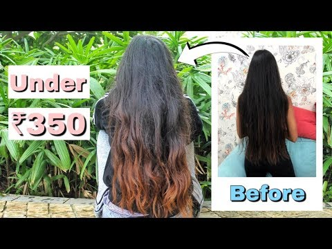 How To Colour Your Hair At Home / Under ₹350