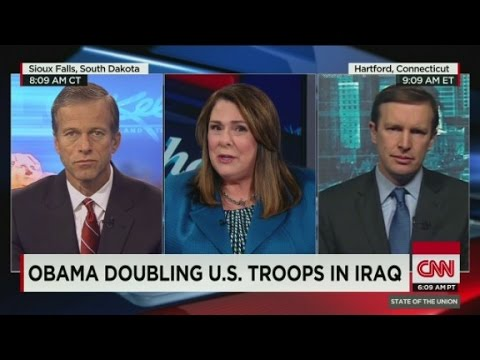 Obama doubling U.S. troops in Iraq