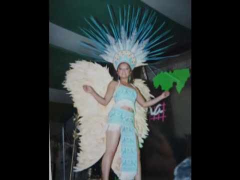 vestidos estilizados de Estrella Chávez