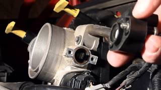 Replacing The Throttle Position Sensor, Dodge Durango 4.7L V8 Engine