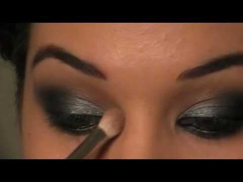 Lea Michele Smokey Eye Makeup Tutorial -Lea Michele Füstös szem smink bemutatója