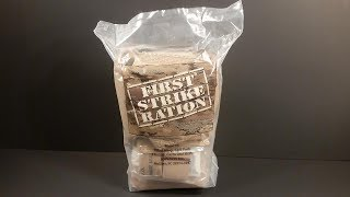 2019 FSR 24 Hour Ration MRE Review Menu #6 BBQ Pork Wrap Meal Ready to Eat Taste Testing