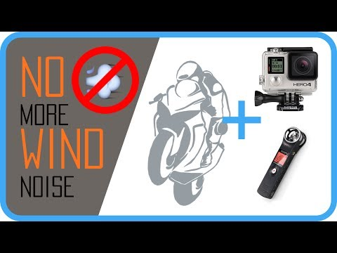 How To Record Motorbike Audio Without Wind Noise
