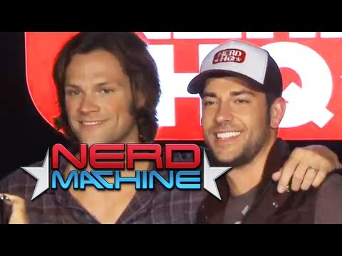 Conversation with Jared Padalecki - Nerd HQ (2011) HD - Zachary Levi