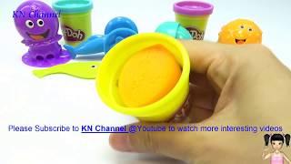 ChiChi ToysReview TV - Trò Chơi đất nặn Play doh ĐỒ CHƠI BÉ GÁI làm con bạch tuột VIDEO CHO BÉ