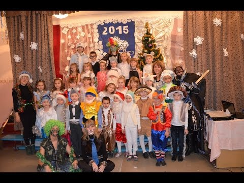 Новогодний утренниик 1А класс (26.12.2014)