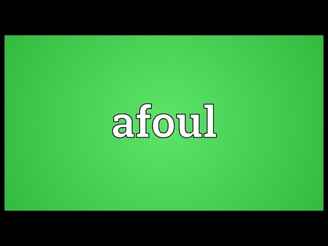 Header of afoul