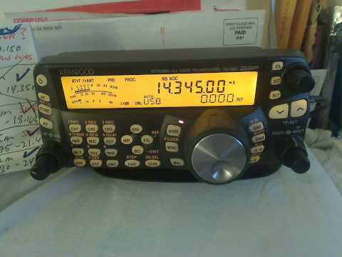 20 Meters working N4PZ in Mt. Morris, Illinois on Upper Sideband 14.345 Mhz
