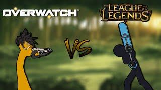 League of Legends VS Overwatch EPISODE 1