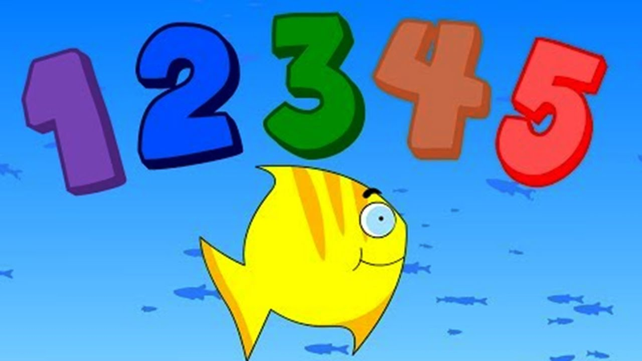 12345 once i caught a fish alive nursery rhymes baby for Once i caught a fish alive