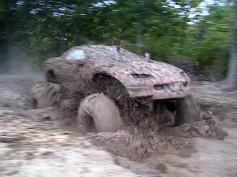 Barnyard Boggers 4x4 Monster Camaro Mud Bogging