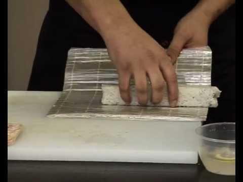 Как приготовить роллы с беконом.avi