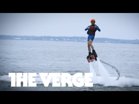 Hoverboards, Flyboards, and the world's tallest water slide