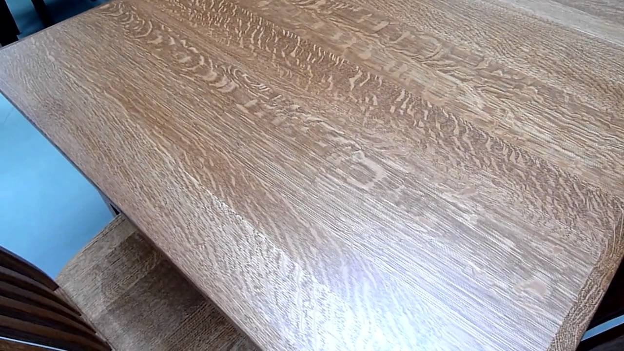 Amish Furniture Wood Type Quarter Sawn White Oak Youtube
