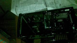 Hand Painted Gaming PC Paint job in just 1$ [ALL BLACK] Project ModXtreme