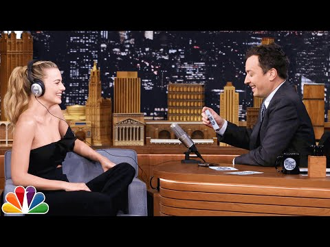 The Whisper Challenge with Margot Robbie