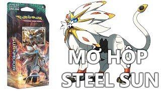 M2DA - Pokemon: Mở hộp bài Pokemon Theme deck Steel Sun