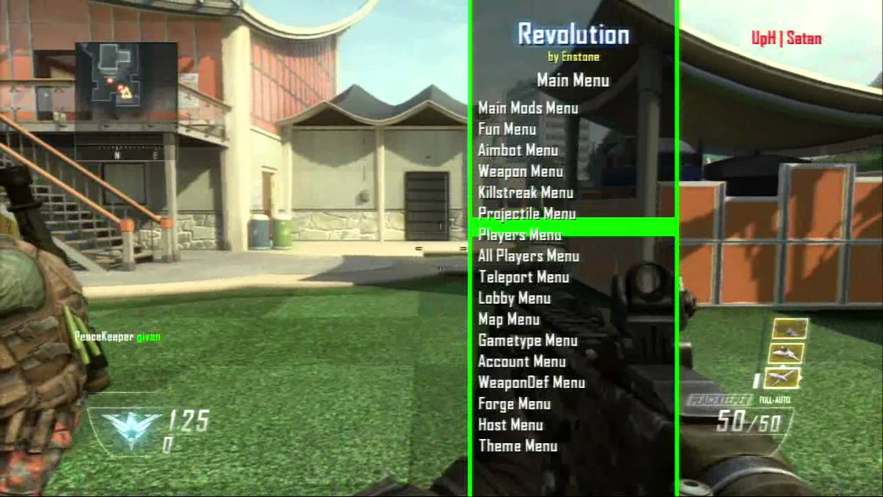 Black Ops 2 Aimbot And Noclip Revolution Mod Menu YouTube