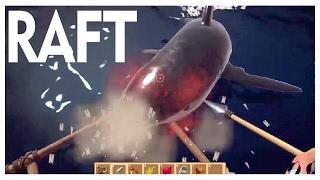 Denizden Babam Çıksa Yerim  -  Raft Türkçe Survival  -  Bölüm 1