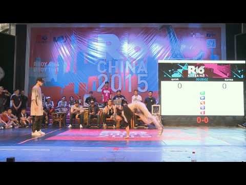 New beast from the east - bboy Quick (R16 China National Team 2015)