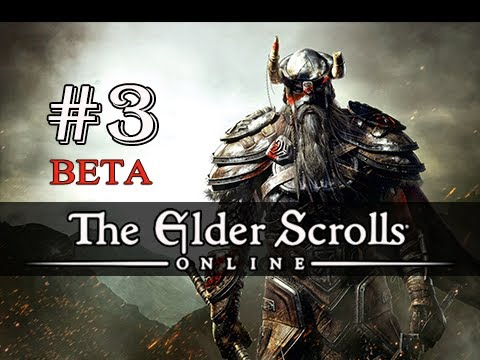 The Elder Scrolls Online Beta Gameplay Walkthrough Part 3 - OBLIVION (Let's Play Commentary)