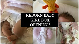 SURPRISE REBORN BABY GIRL BOX OPENING 2017!
