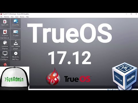 TrueOS 17.12 Installation + Overview on Oracle VirtualBox [2017]
