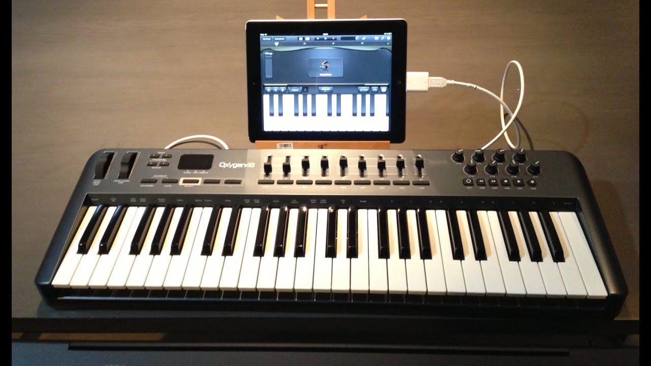 Connect A Midi Controller Keyboard To Your Ipad W
