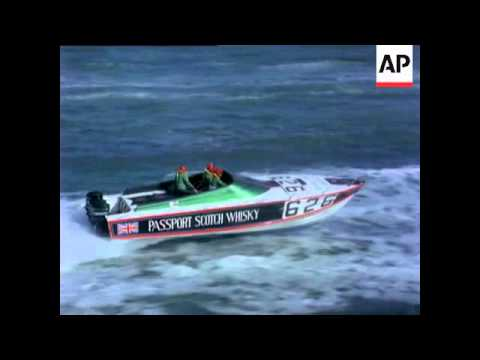 POWER BOAT RACE - NEWS IN COLOUR