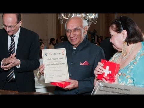 Yash Chopra And Switzerland... The Romance Continues