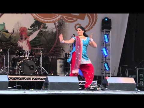Anarkali Disco Chali - Karima Dance Academy at VIBC 2012 HSBC...