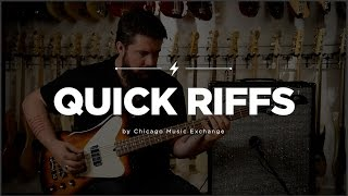 Quick Riffs: Mike Lull NRT4 - Vintage Sunburst Bass Guitar Demo