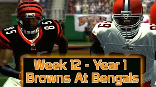 ESPN NFL 2K5 - Cleveland Browns At Cincinnati Bengals - Week 12
