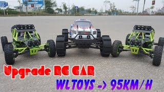 How To Upgrade RC Car WLTOYS 12428 1/12 Max SPEED 95km/h
