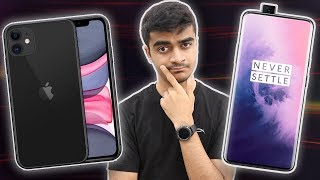 iPhone 11 vs OnePlus 7 Pro- Best Affordable Flagship?