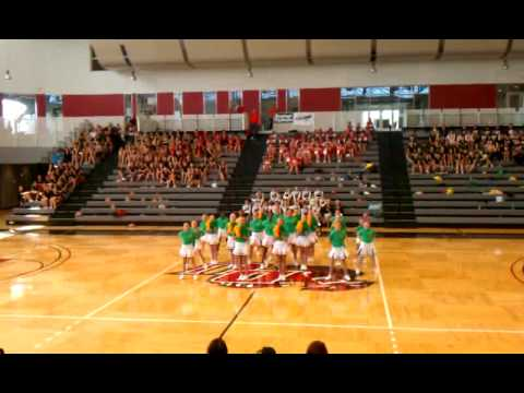 Garden City Middle School Pom Camp 2011 Routine