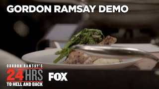 Cooking Demo: Chicken & Polenta Dish | Season 2 Ep. 3 | GORDON RAMSAY'S 24 HOURS TO HELL & BACK