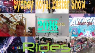 Rides | 2016 Sydney Royal Easter