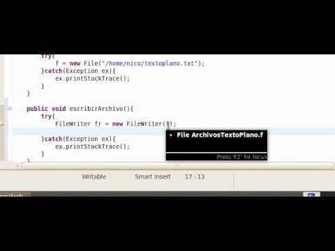 Tutorial Java en Español - Capitulo 53 - Archivos - Parte 1