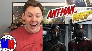 Ant-Man and the Wasp Trailer #2 Reaction! | Webhead