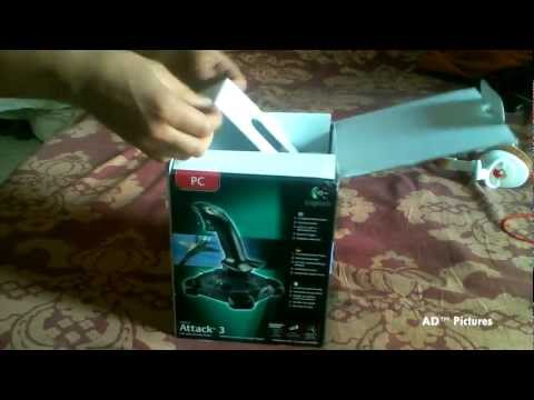 Logitech Attack 3 Joystick -Unboxing & Review