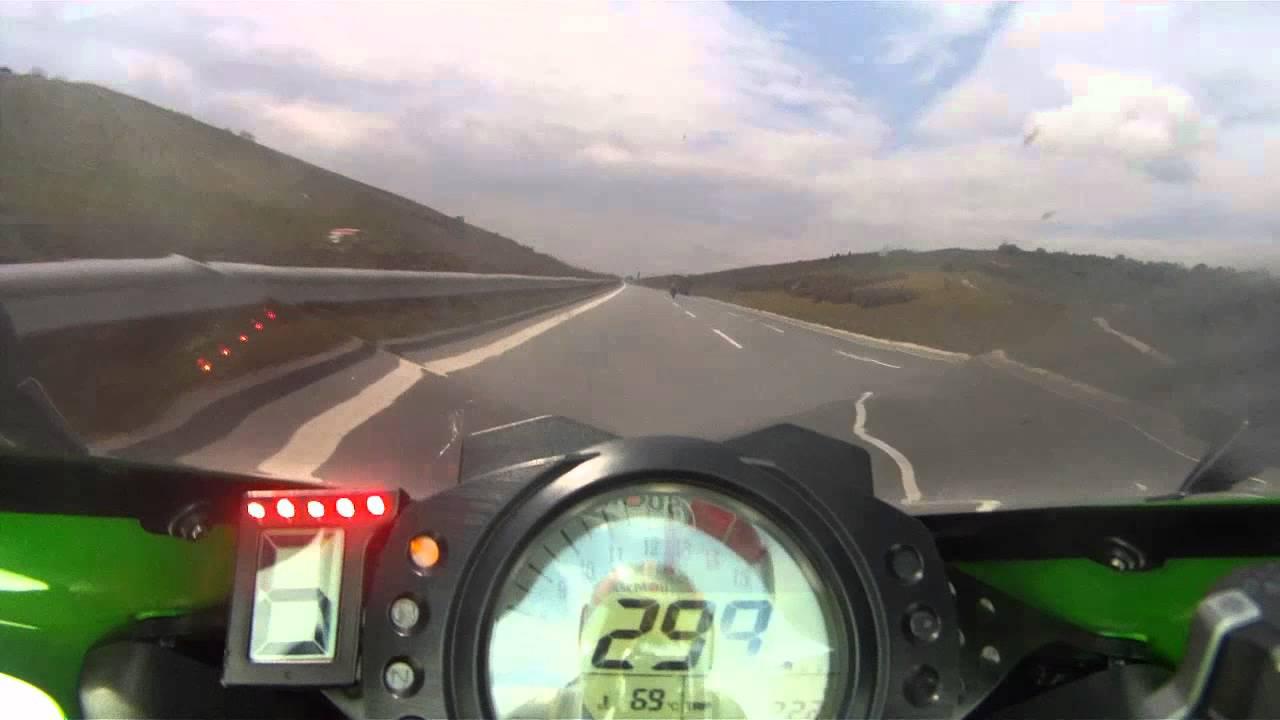 Kawasaki Ninja  Top Speed