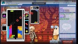 Squirtle vs ajanba Tetris Friends Comeback Tourney