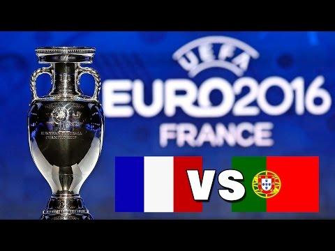 UEFA EM 2016 Final: Frankreich vs. Portugal