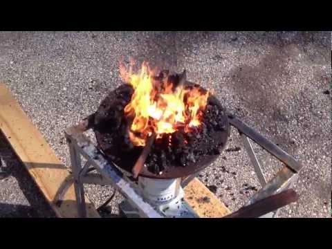 Anvil Stand 02 - Improv forge heats corner bracket