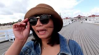 Vlog with me Ep: 3   Sopot Poland / Jollyjoy Lifestyle