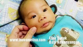 Efek Buruk Bayi Kekenyangan dan Cara Atasinya - Ciri Bayi Cukup Menyusu - Cukup Susu ASI