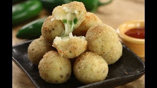 Jalapeno Cheese Balls | Monsoon Magic | Sanjeev Kapoor Khazana