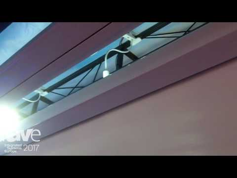 ISE 2017: Comte Vision Showcases In Ceiling Screen with Tabs